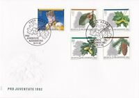 SW66) Switzerland 1992 Pro Juventute - Trees FDC.