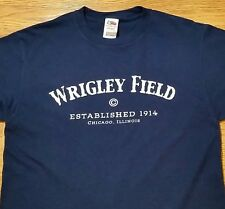 Wrigley Field t-shirt (M) Blue Color, Heavy Cotton / MLB, Baseball, Chicago Cubs