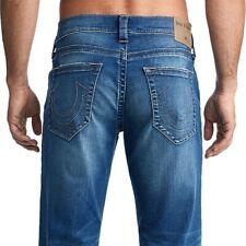 True Religion Men's Ricky Straight Fit Stretch Jeans in Supernova Blues