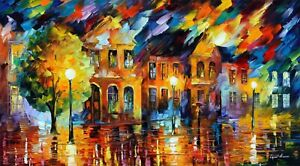 Art Oil Painting Wooden Jigsaw Puzzle For Adults  DIY 1000pieces Home Decro