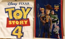 """Toy Story 4 T-shirt (suze L) And Tote Bag (12""""x8.75"""")"""