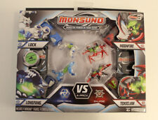 Monsuno Combat 4-Pack Core-Tech vs Eklipse Series 3 Neu / OVP