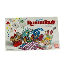 Rummikub Junior Tile Game Vintage Retro Board Game 1995 Goliath Matching numbers