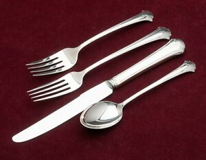 Chippendale by Towle Sterling Silver individual 4pc Place Setting, French Blade