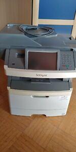 Lexmark X466de s/w Laserdrucker (Scanner/Fax/Drucker/Kopierer)