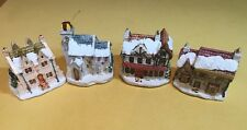 Lot of 4 Rsvp Dickens Christmas Cottages