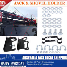 Lift High Farm Jack Shovel Holder 4X4 Offroad 4WD Roof Rack Mount Bracket high