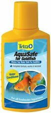 Tetra Aquasafe For Goldfish 3.38oz 100ml Fre Shipping!