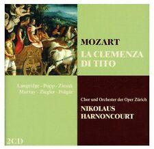 Nikolaus Harnoncourt - Mozart  La Clemenza di Tito [CD]