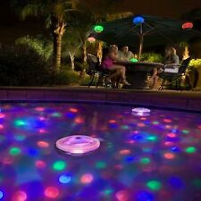 Poolbeleuchtung Unterwasser Lichtshow Pool Licht Schwimmbad LED Lampe Partei NEU