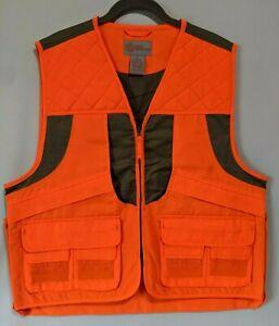 Master Sportsman Rugged Gear Mens  Upland Hunting Vest Orange
