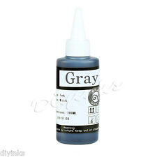 100ML Grey Refill INK For Canon PIXMA MG6320 MG7120 MG7520 IP8720 CISS
