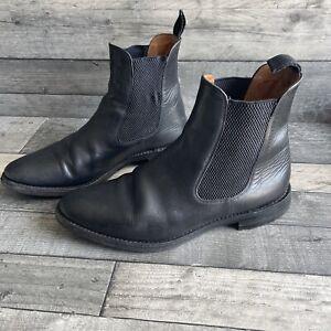 Loake Men's Blenheim Black Leather Chelsea Boots - Size 10 UK