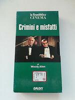 CRIMINI E MISFATTI VHS - Videocassetta La Repubblica Cinema