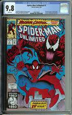 Unlimited Spider-Man # 1 CGC 9.8 WP 1st app. of Shriek