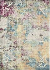Safavieh Lucy Vintage Inspired Area Rug Carpet Yellow Blue 200 x 300 cm