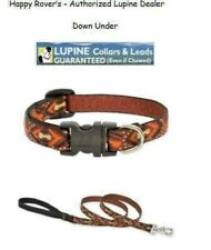 "Lupine Lifetime Guarantee Large Dog Leash or Collar - 1"" - DOWN UNDER"