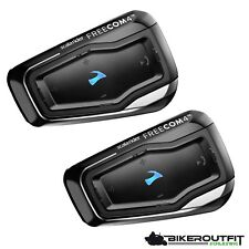CARDO Scala Rider FREECOM 4 Interkom Motorrad Bluetooth Headset 4.1 Doppelset