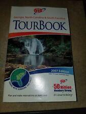 Georgia South Carolina North Carolina Tour Book AAA 2007 Edition