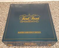 Trivial Pursuit Genus Edition 1983. Complete, Very Good Condition.