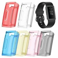 TPU Protector Shell Protective Frame Case  For Fitbit Charge 3 Smart Watch