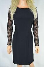 Karen Millen Women's No Pattern Crew Neck Sleeveless Dresses