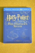 EU Import New+Sealed Steelbook Harry Potter and the Philosophers Stone Blu ray