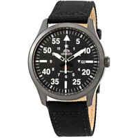 Orient Sport Black Dial Black Leather Men's Watch FUNG2003B0