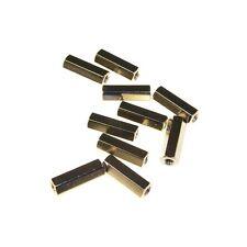10 Distanzbolzen M3 x 15 mm Innen-Innen Abstandsbolzen 15mm 853702