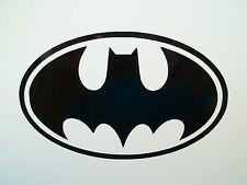 2 x Batman Logo Auto Lato Specchio Retrovisori in Vinile Decalcomania Adesivi Van