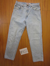Used 540 blue relaxed fit levi's jean tag 33x30 meas 31x30 V5172