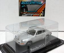 PORSCHE 911 S 1972 SILVER PLATA 1/43 IXO RBA