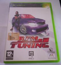 RPM TUNING gioco XBOX originale completo ITA corse