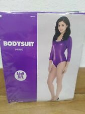 Amscan Women's Purple M/L Bodysuit Costume