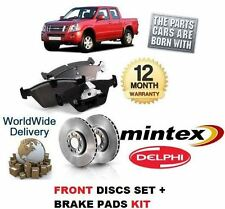 FOR ISUZU RODEO  3.0DT 2003 2004 2005 2006 FRONT BRAKE DISC SET & DISC PADS KIT