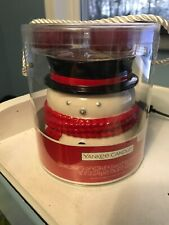 NEW Yankee Candle Snowman Luminary Tea Light Holder Sparkling Cinnamon Scent