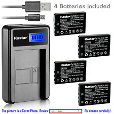 Kastar Battery LCD Charger for Kodak KLIC-5001 & Kodak EasyShare Z730 Zoom