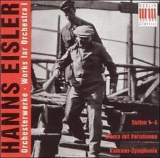 Hanns Eisler: Works for Orchestra, Vol. 1, New Music