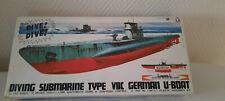 Yamada 1:150 U- Boot Typ German Submarine mit Motor TOP