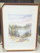 Karin Andersen - no titolo -  63×48 cm quadro litografia  firmata