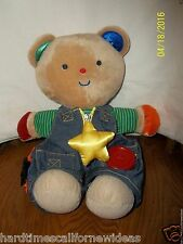 "Melissa & Doug Wear Bear Dress Me Plush K's Kids 14"" Tall"