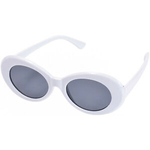 CLOUT GOGGLES GLASSES KURT COBAIN SUNGLASSES WHITE RAPPER SHADES OVAL CLOUD