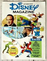 Vintage Disney Magazine September Issue 1976