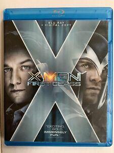 X-MEN FIRST CLASS BLUE RAY Disc + DIGITAL Copy