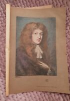 Study in Pastel by Sir Peter Lely -1906 Book Print