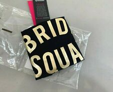 New! Commando Bds12 'Bride Squad' Bridal Applique Bodysuit, S - Black - $76