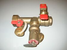 Watts LFTWH-FT-H Tankless Water Heater Isolation Valve 3/4-Inch 3L-M7
