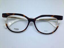 FENDI FF0116 occhiali da vista donna tartarugati oro woman glasses brille lentes