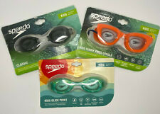 New listing Lot of 3 Speedo Kids Swim Goggles New