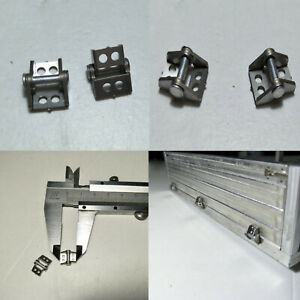 6X Metal Hinge Cargo Container for Tamiya Scania 56323 RC Tractor Trailer 1/14
